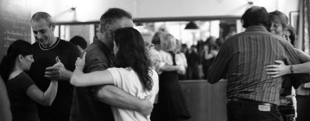 Milonga au cafe Cortina